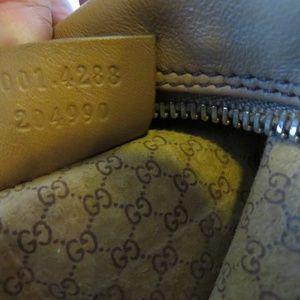Gucci Bags - GUCCI TAN LEATHER HORSEBIT HOBO SHOULDER BAG